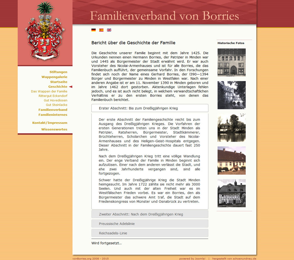 schoenundneu - Familienverbandes von Borries
