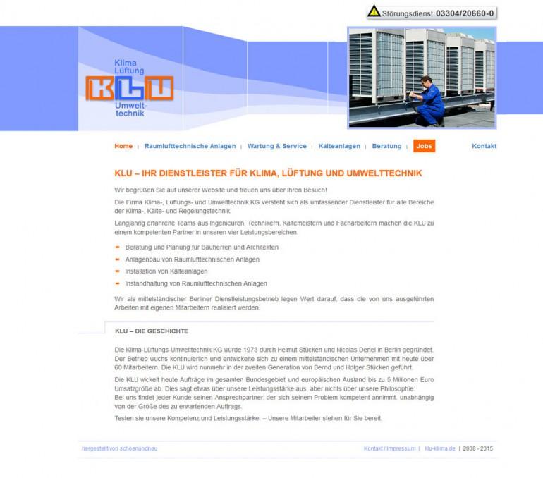 schoenundneu - KLU Klima Lüftung Umwelttechnik