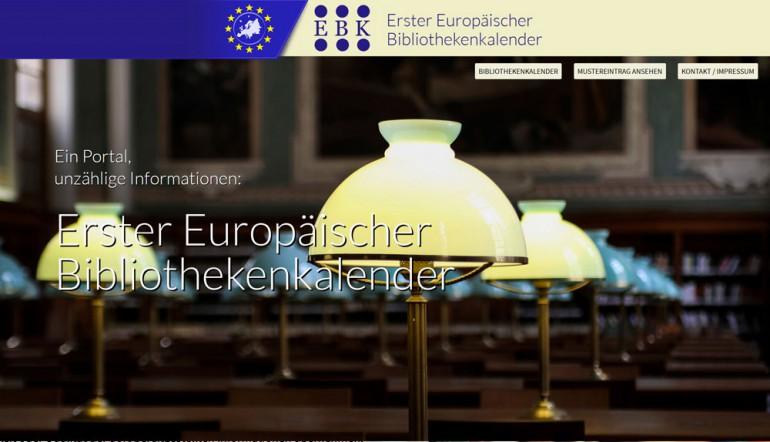 schoenundneu - Europäischer Bibliothekenkalender
